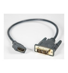 DVI-D (M) to HDMI (F) Adapter Cable