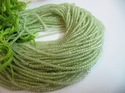 AAA Quality Natural Peridot Micro Faceted Beads