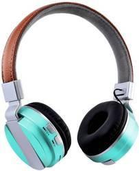 ROQ Metal Super Bass Wireless Stereo Bluetooth Headphone