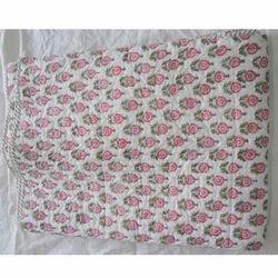 Designer Print Quilt