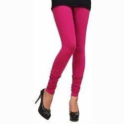 Ladies Cotton Lycra Legging, Size: Free