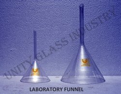 Laboratory Glass Plain Funnel