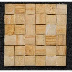 Teak Moulding D Pattern Wall Cladding