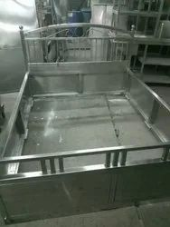 Stainless Steel SS Bed Frame