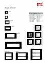 Black & Silver Modular Plates