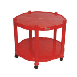 Cello Corolla Plastic Round Center Table