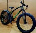 Bengshi Black Green Fat Tyre Cycle