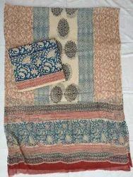 Jaipuri Print Salwar Suit Material