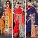 Heavy Cotton Silk Saree
