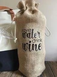 Jute Bottle cover