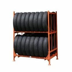 3-4 Feet Free Standing Unit Product Steel Rack