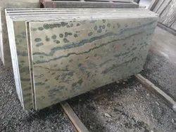 Lava green marble