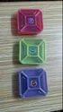 Plastic Masala Square Box