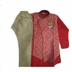 Cotton, Rayon Kids Fancy Kurta Pajama