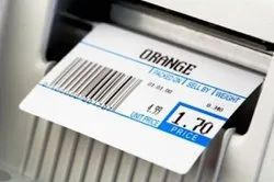 Label for Weighing Scale Printers