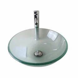 Glass Round Wash Basin