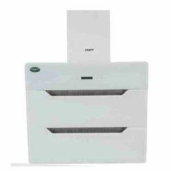 Kraft Italy Stainless Steel Amore White 600 Kitchen Chimney
