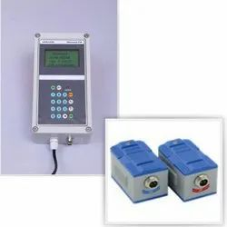 USFM600DL Fixed Type Ultrasonic Flow Meter with Clamp on Sensor and in Built Data Logger