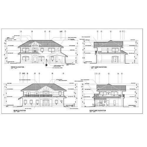 Civil Structural Drafting Service In Pitampura New Delhi