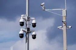 Metal 1.0 Mp Up To Traffic CCTV Camra, 50 mtr