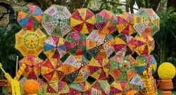 Rajasthani Embroidered Parasols