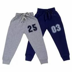 Blue, Grey Casual Wear Kids Boys Lower
