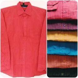 Latest Cotton Mens Full Sleeve Shirts, Machine wash