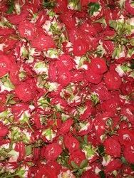 Garlands Red Ruby Button Rose, Size: 30 Kgs, Packaging Size: Bag