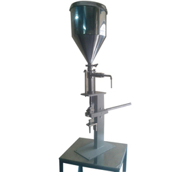 Foot Operated Paste Filling Machine