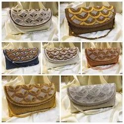 Trendy Bridal Clutch Bag