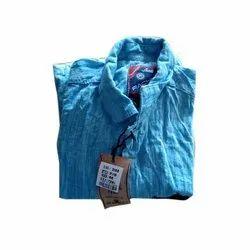 Casual Wear Plain Mens Cotton Casual Shirt