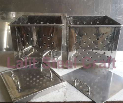 Stainless Steel Paneer  Cottage Cheese Making Mould