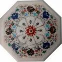 Octagonal Marble Coffee Table Top