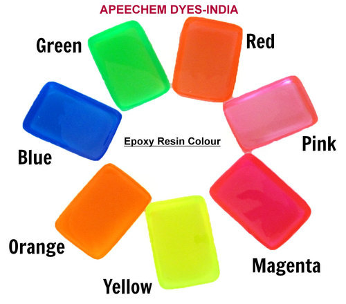 Epoxy Resin Colours, Dyes & Color Additives | APEE Chem Dyes