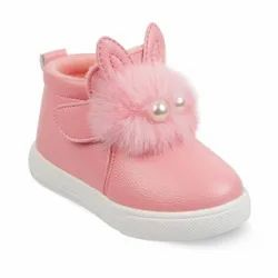 Kids Pink Boots