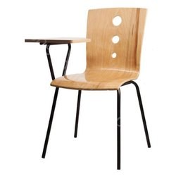 W-002 Wooden Writing Pad Chair