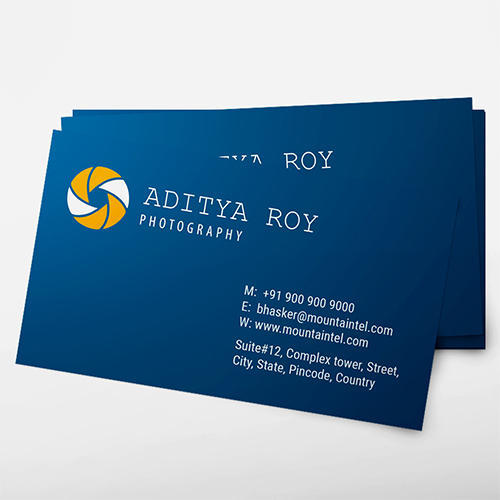 Blue Spots Personalized Business Cards