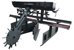 Bund Maker With Seed Drill