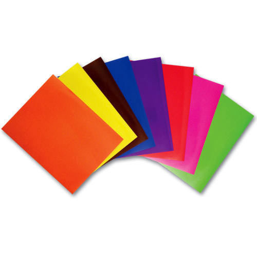 Colored Craft Paper Crafting