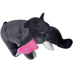 Dark Grey Elephant Soft Toys