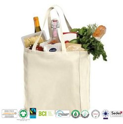 Biodegradable Cotton Grocery Bag