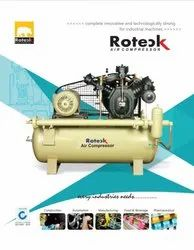 15 HP Heavy Duty High Pressure Air Compressor