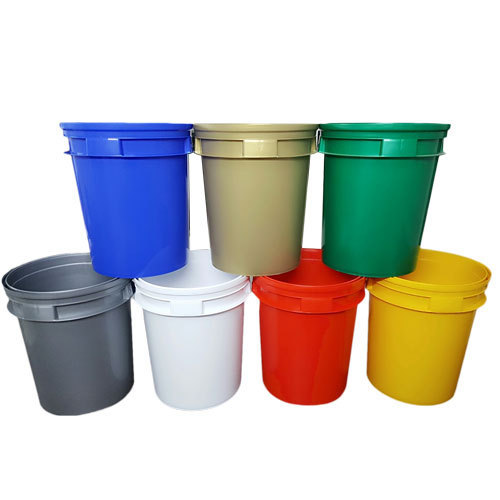 Plastic Engine Oil Packaging Pail, Rs 120 /piece Nexa Poly Plast ...