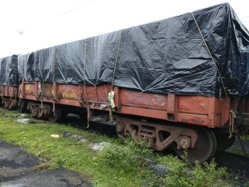 Black Polythene Wagon Cover