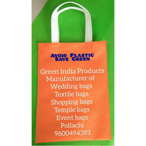 Stitched Non Woven Bag Non Woven Bag With Loop Handle