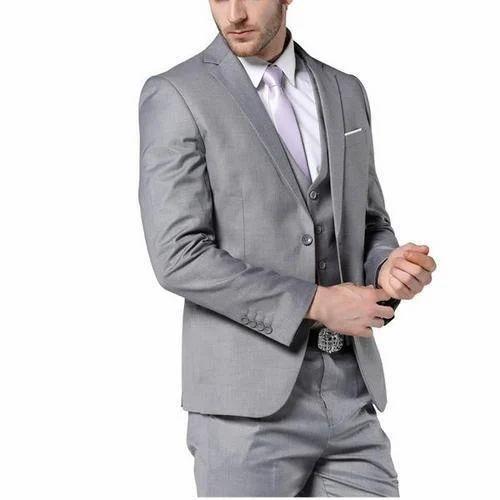 ebe973a0d457 Mens Wear Cotton Grey Wedding Suits, Rs 5000 /piece, Kinny Garments ...