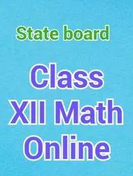 Class XII Maths
