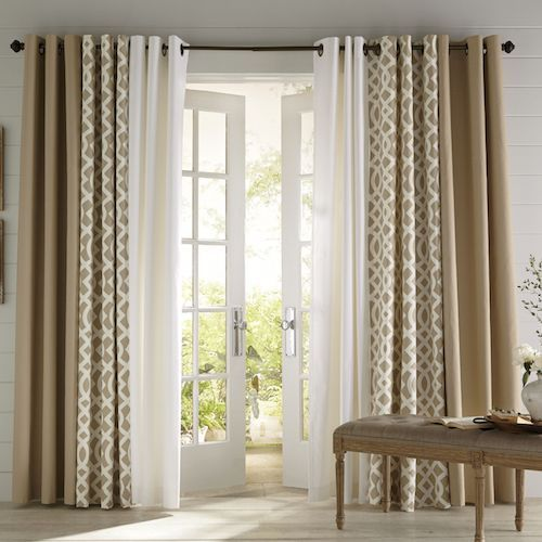 Designer door curtain