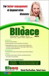 BILOACE  (Tab Ginkgo Biloba 60 mg Mecobalamin 750 mcg Arginine 10mg Vit C150 mg Vit E 200 i.u)
