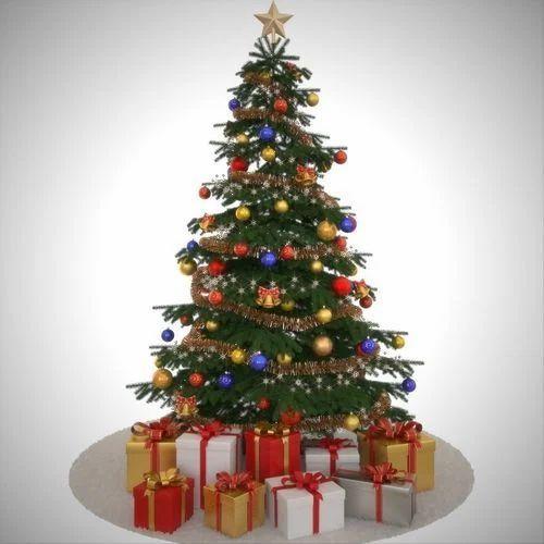 Green Decorative Christmas Tree, Rs 4500 /piece, Prince Plastics ...